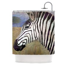 Zebransky Polyester Shower Curtain