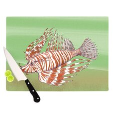 Fish Manchu Cutting Board