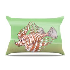 Fish Manchu Microfiber Fleece Pillow Case