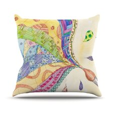 The Painted Quilt Throw Pillow