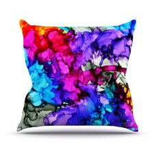 Indie Chic by Claire Day Throw Pillow