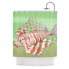Fish Manchu Polyester Shower Curtain