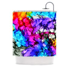 Indie Chic Polyester Shower Curtain