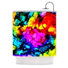 Sweet Sour Polyester Shower Curtain