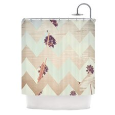 Oasis Polyester Shower Curtain