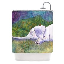 Ernie's Dream Polyester Shower Curtain