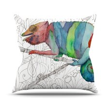 Chameleon Fail Throw Pillow