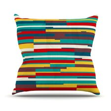 Blowmind Throw Pillow