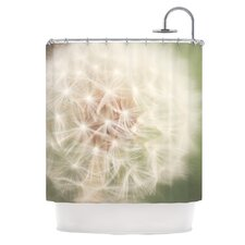 Dandelion Polyester Shower Curtain