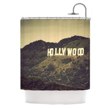 Hollywood Polyester Shower Curtain