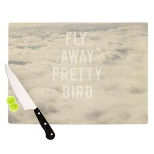 <strong>KESS InHouse</strong> Fly Away Pretty Bird Cutting Board