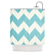 Salt Water Cure Polyester Shower Curtain
