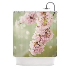 Blossom Polyester Shower Curtain