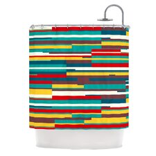 Blowmind Polyester Shower Curtain