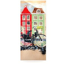 Bicycle by Christen Treat Painting Print Plaque