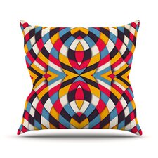 <strong>KESS InHouse</strong> Stained Glass Throw Pillow
