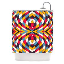 Stained Glass Polyester Shower Curtain