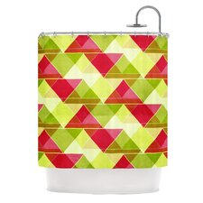 Palm Beach Polyester Shower Curtain