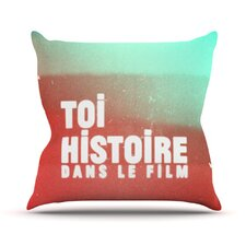 <strong>KESS InHouse</strong> Toi Histoire Throw Pillow
