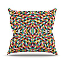 Retro Grade Throw Pillow