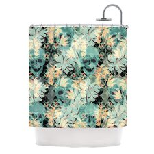 Dead Head Party Polyester Shower Curtain