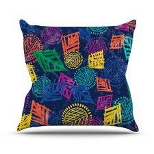 African Beat Throw Pillow