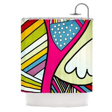 Fake Colors Polyester Shower Curtain