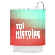 Toi Histoire Polyester Shower Curtain