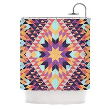 Ticky Ticky Polyester Shower Curtain