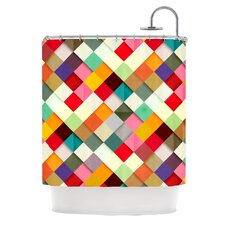 Pass This On Polyester Shower Curtain