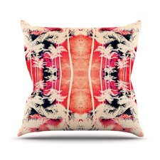 <strong>KESS InHouse</strong> Lemonade Palm Trees Throw Pillow