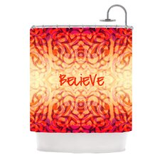 Tattooed Believer Polyester Shower Curtain