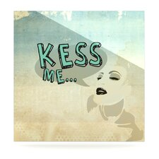Kess Me by iRuz33 Graphic Art Plaque