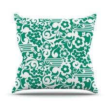 Esmerald by Louise Machado Throw Pillow