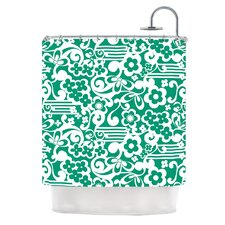 Esmerald Polyester Shower Curtain