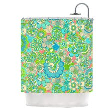 Welcome Birds To My Garden Polyester Shower Curtain