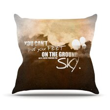 <strong>KESS InHouse</strong> Touch The Sky Throw Pillow
