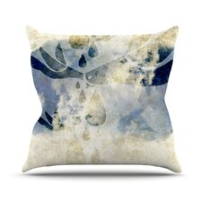 Doves Cry by iRuz33 Throw Pillow