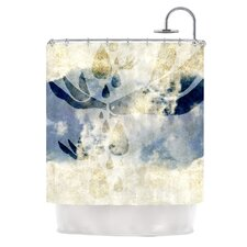 <strong>KESS InHouse</strong> Doves Cry Polyester Shower Curtain