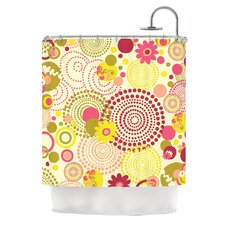Poa Polyester Shower Curtain