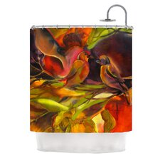 Mirrored in Nature Polyester Shower Curtain