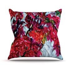 <strong>KESS InHouse</strong> Bougainvillea Throw Pillow
