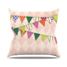 <strong>KESS InHouse</strong> Flags 2 Throw Pillow