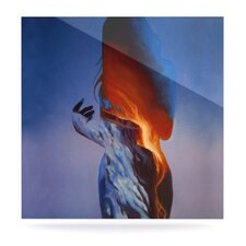 Volcano Girl by Lydia Martin Painting Print Plaque