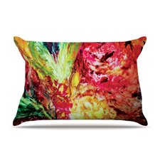 Passion Flowers I Fleece Pillow Case