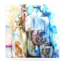 Bottled Animals by Kira Crees Painting Print Plaque
