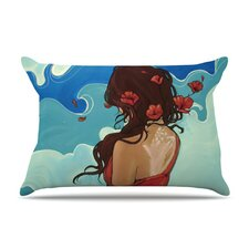 Sea Swept Fleece Pillow Case