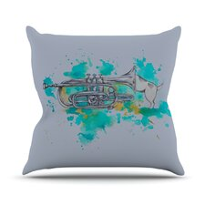 Hunting for Jazz Throw Pillow