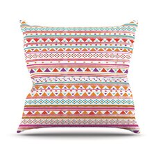 Native Bandana Throw Pillow