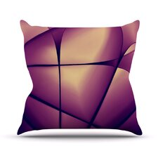 Paper Heart by Ingrid Beddoes Throw Pillow